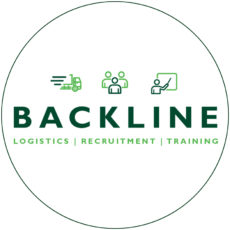 Backline logo in circle